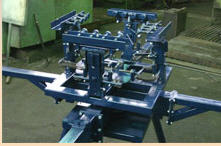 Production of a metalwork on projects of the