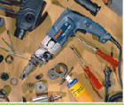 Hire of the electric tool