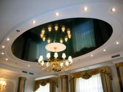 Sale, design and installation of stretch ceilings