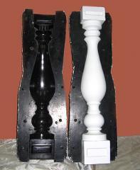 Production of matrixes from fibreglasses