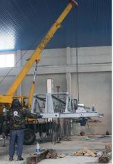 Installation, dismantle, repair of load-lifting mechanisms of any complexity