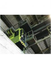 Adjustment, installation, modernization of electrical equipment, safety devices for cranes