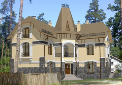 Architectural design of individual houses,