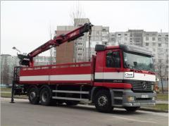 Перевезення автомобільні штучних і тарних вантажів