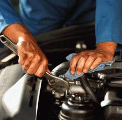 Repair of cars of a special purpose