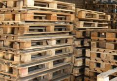 Production of pallets under the order