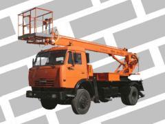 Аренда, услуги автовышки от 18 до 22 метров. Киев