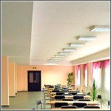 Освещение школьного кабинета и административных