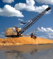 We dig lakes. We dig ponds. Artificial reservoirs