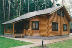 Construction des cottages d'après les projets
