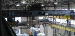 Modernization of load-lifting cranes