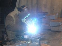 Welding of metals