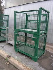 Production of a welded metalwork according to drawings of the customer