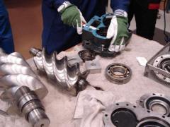 Capital repairs of screw compressors