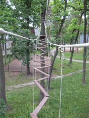 Service of projects. Service of rope parks. Kiev.