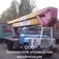 Услуги автовышки по Броварам.