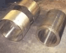 Molding of non-ferrous metals (bronze, brass,