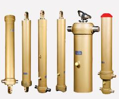 Repair of telescopic hydraulic cylinders of