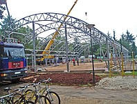 Installation of metal structures