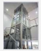 Installation of an elevator shaf