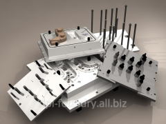 Production of compression molds and foundry