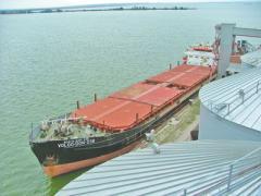 Tanker shipping.