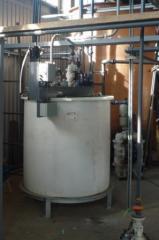 Installation of treatment facilities
