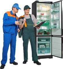 Repair and service of refrigerating appliances,