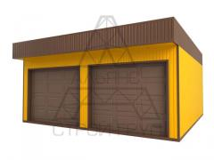 Construction and production of metal garages