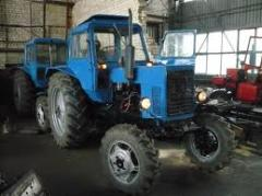 Repair of agricultural machinery, engines,