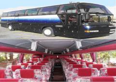 Поїздки на комфортабельних автобусах