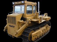 Repair of buldoser special equipment on the basis