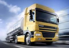 The company provides services in transportation of