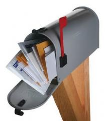 Services of a mailing. Mailing group