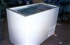 Installation of refrigerating appliances.