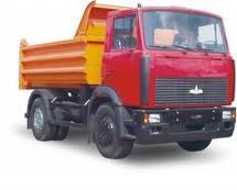 The dump truck for ren