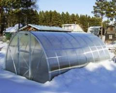 Installation of greenhouses