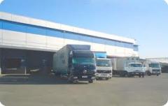 Услуги складов для хранения сухих продуктов