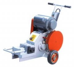 Rent of the machine for cutting of armature