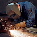 Shop works: welding, painting, cleaning, etc.