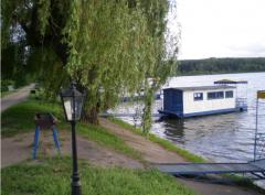 Rent of floating dachas