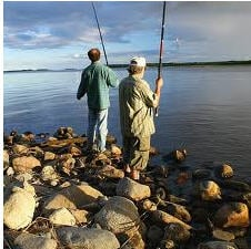 Fishing in Kruglike of Kiev region