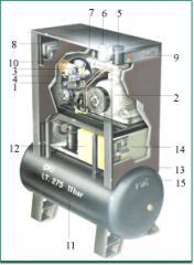 Balma compressor of the VT OASIS GALAXY VISS VK
