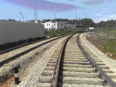 Laying of railroad switches
