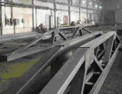Production and installation of a metalwork