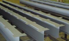 금속 구조물의 설치