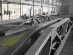 Production of a metalwork according to standard projects