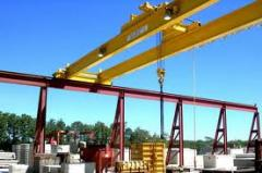 Installation of the crane equipmen