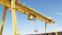 Repair of gantry cranes