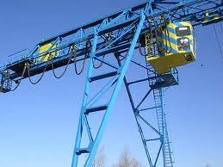 Repair of gantry and bridge cranes to 100 t.